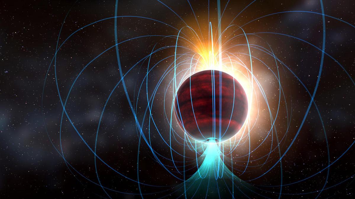 Fría y tenue estrella enana resulta tener un impresionante campo magnético