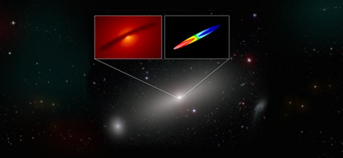 ALMA determina masa de agujero negro con extrema precisión