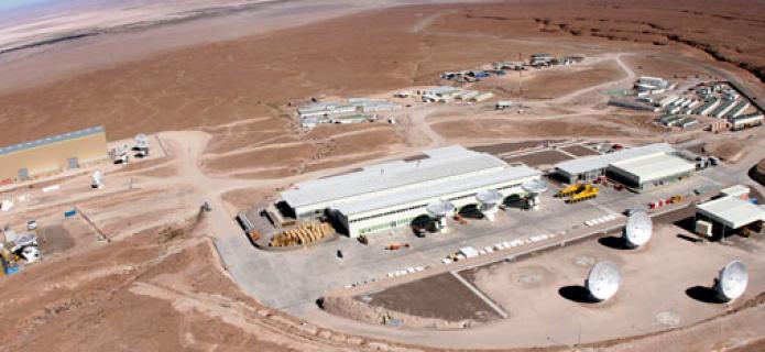 Fiber Optic Interruption Affects Communications at ALMA Observatory