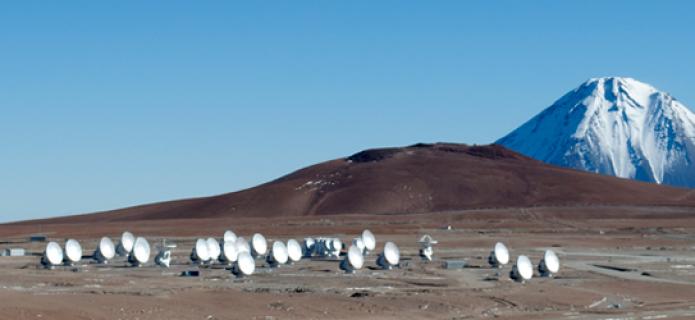 Halfway There: 33 ALMA Antennas on Chajnantor