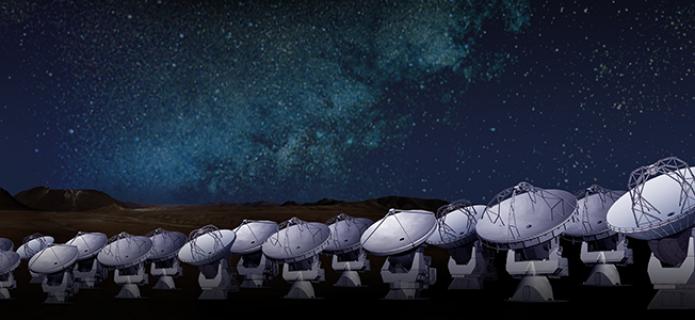 ALMA Reveals Constituent of a Galaxy 12.4 Billion Light-Years Away