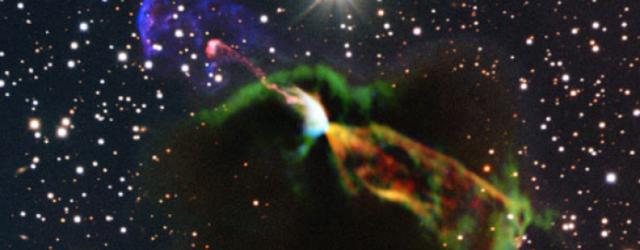 ALMA capta dramático nacimiento de una estrella