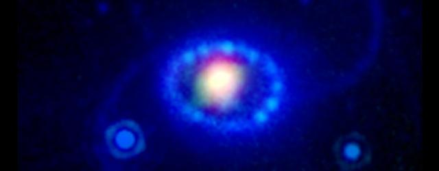 Restos de supernova forman abultada masa de moléculas frías