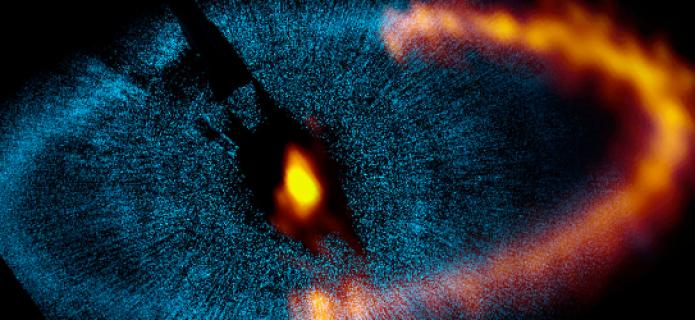 ALMA revela el funcionamiento de un sistema planetario cercano