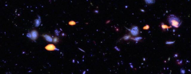 ALMA explora el Campo Ultraprofundo de Hubble: Nuevas luces sobre la 'Edad de Oro' de la formación de galaxias