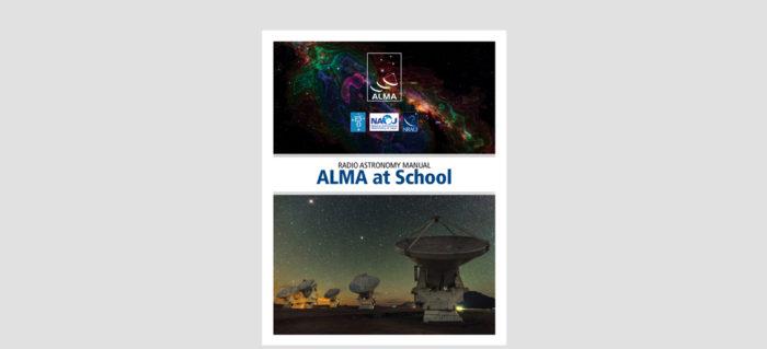 Radio astronomy manual, ALMA at school