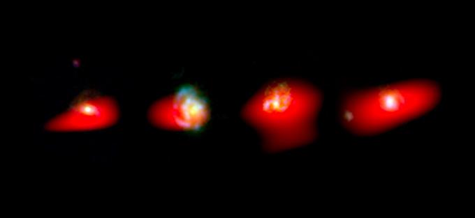 Milky-Way-Like Galaxies Seen in their Awkward Adolescent Years