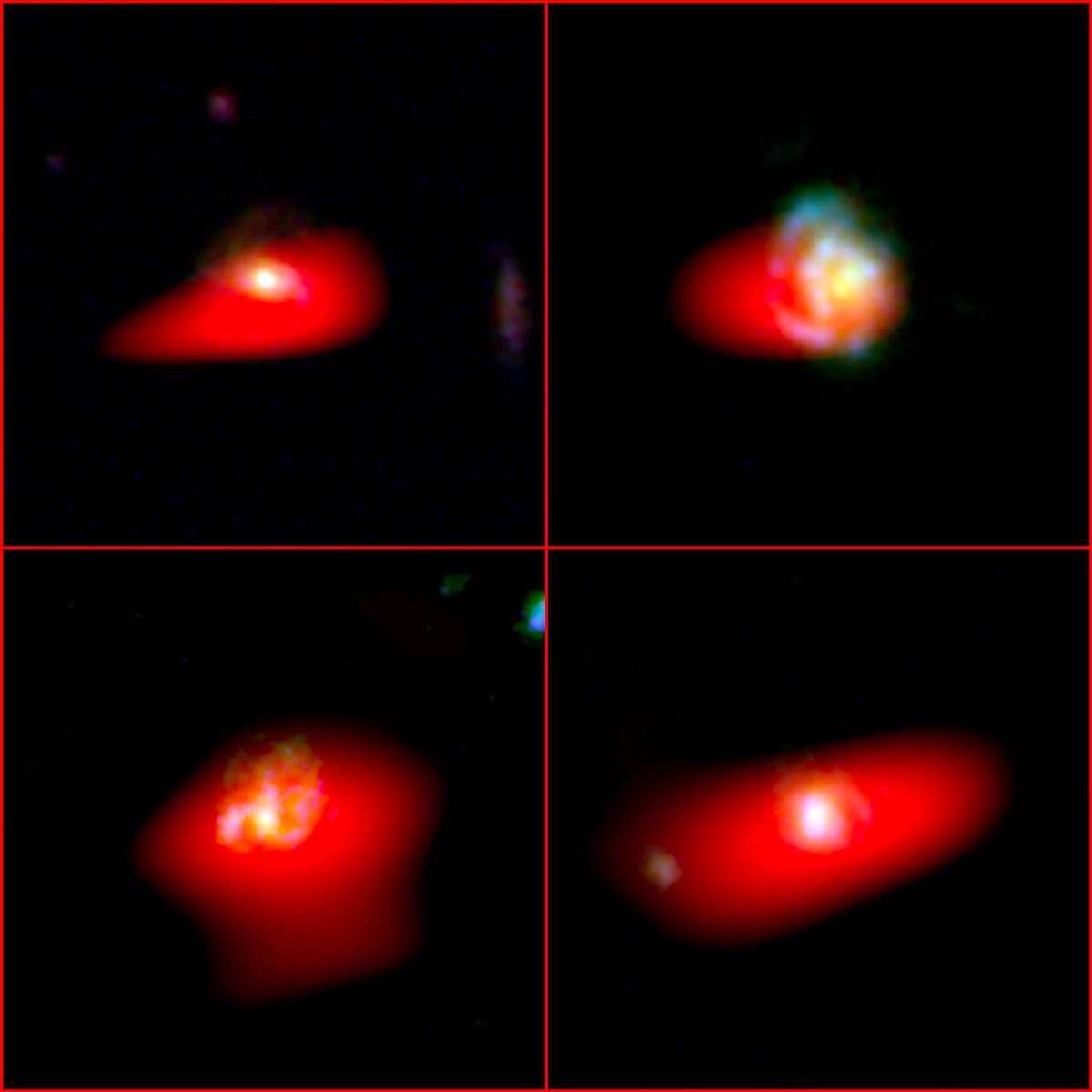 Galaxias similares a la Vía Láctea