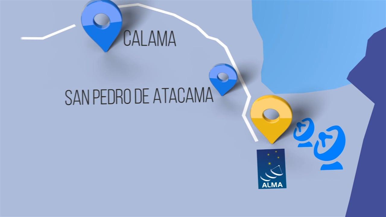 ALMA obtiene conexión de banda ancha con la comunidad científica global