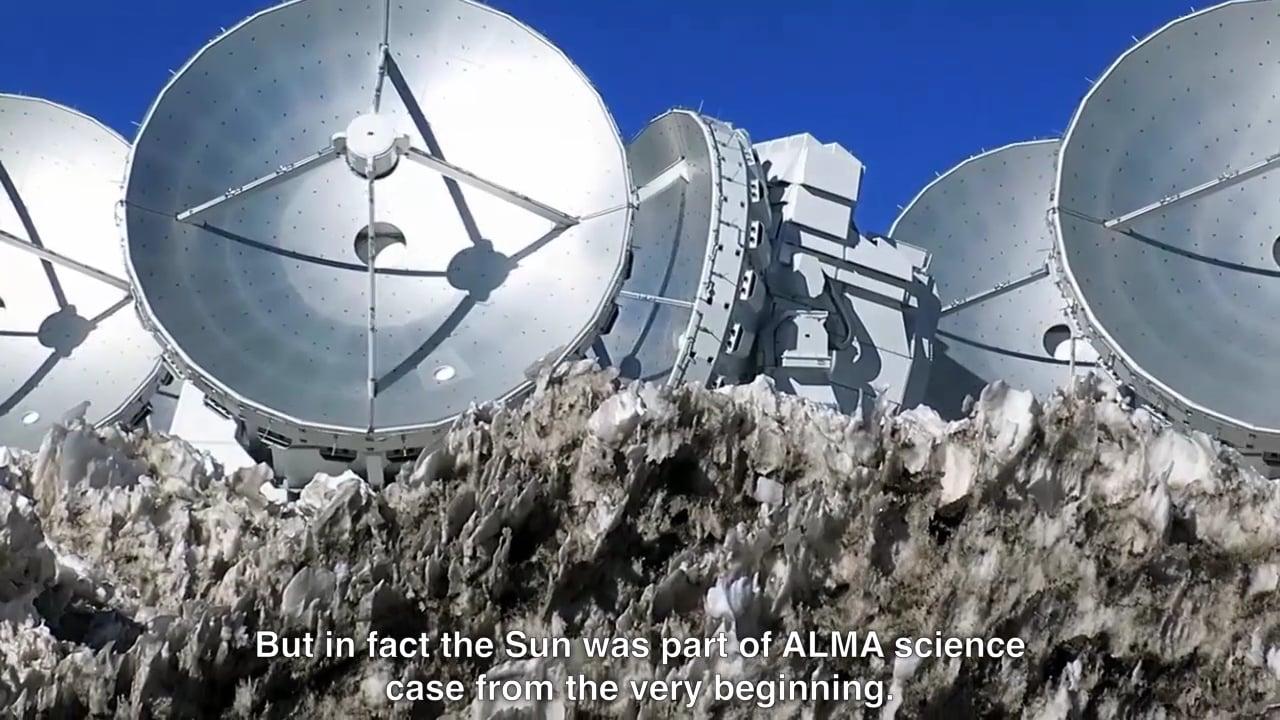 ALMA Starts Observing the Sun