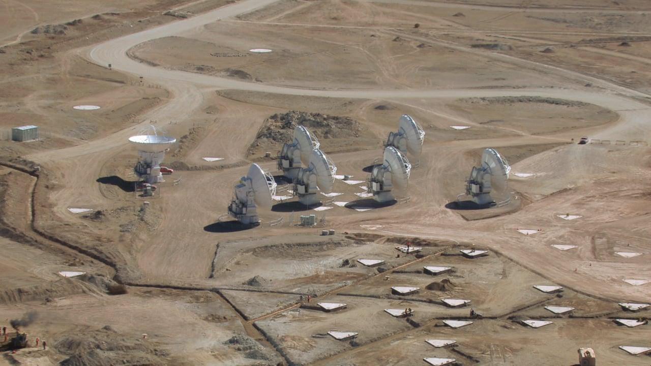 Compilado de vistas aéreas del AOS de ALMA