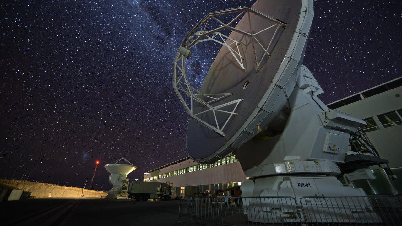 Compilado de timelapse nocturno de Centro de Apoyo a las Operaciones de ALMA