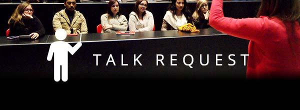 Talk request