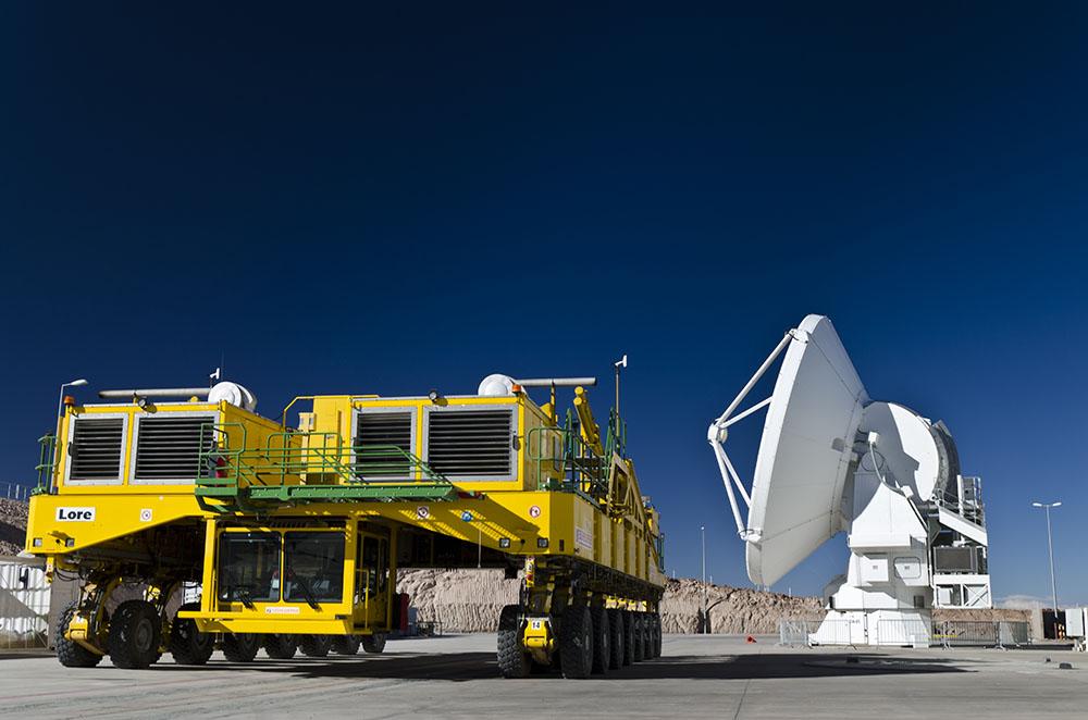 Transportador y antena en OSF