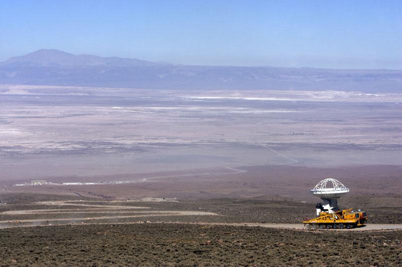 Reubicación antena Norteamericana