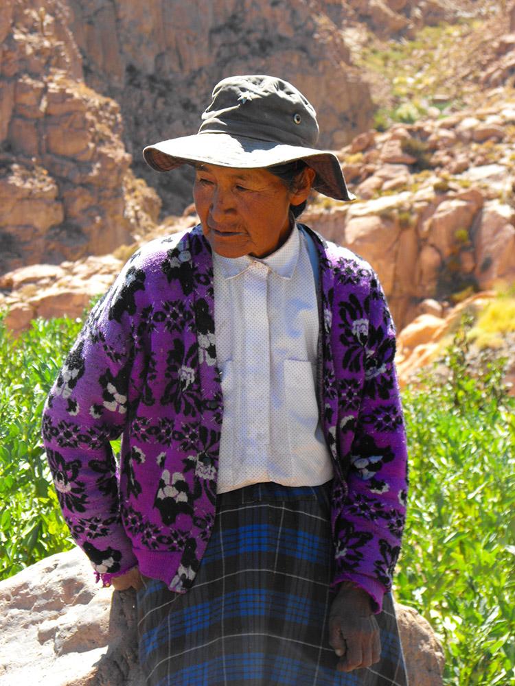 Retrato a una abuela de San Pedro de Atacama