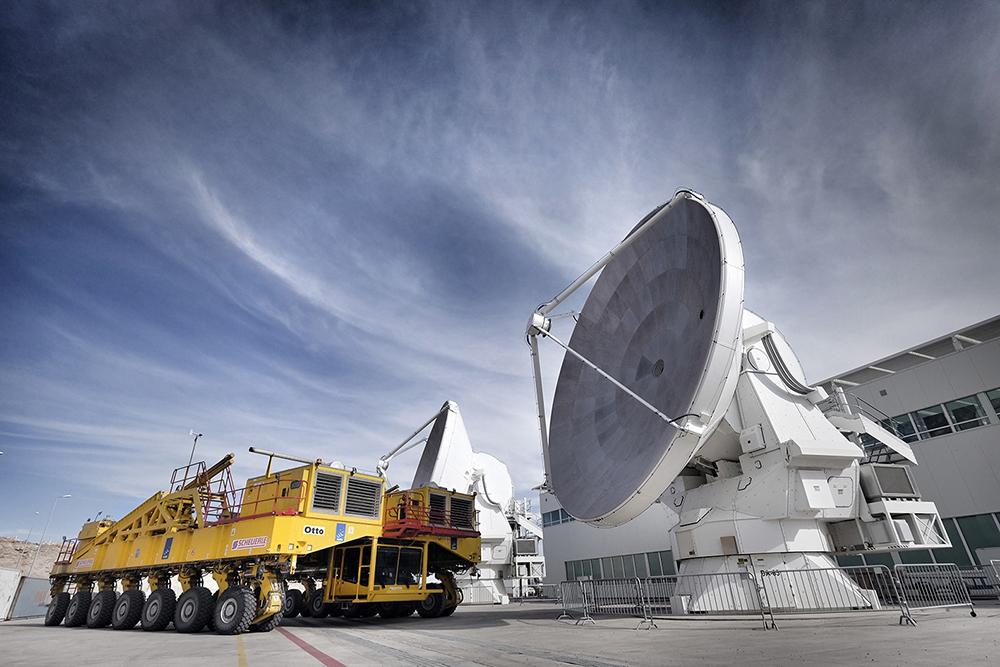 Transportador con Antenas en OSF