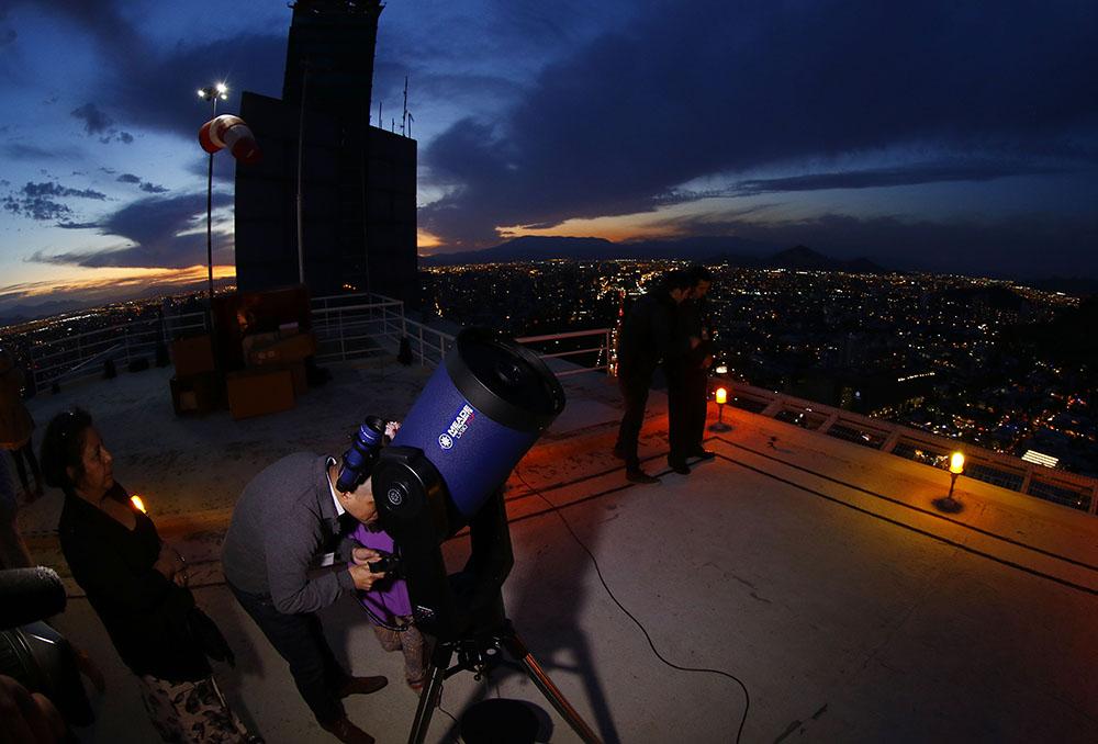 Observación de Estrellas desde Helipuerto Telefónica
