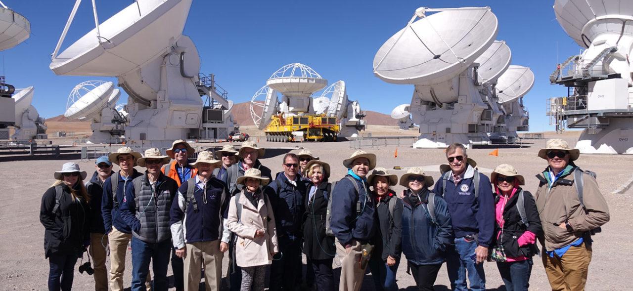 US Congress Representatives visit ALMA