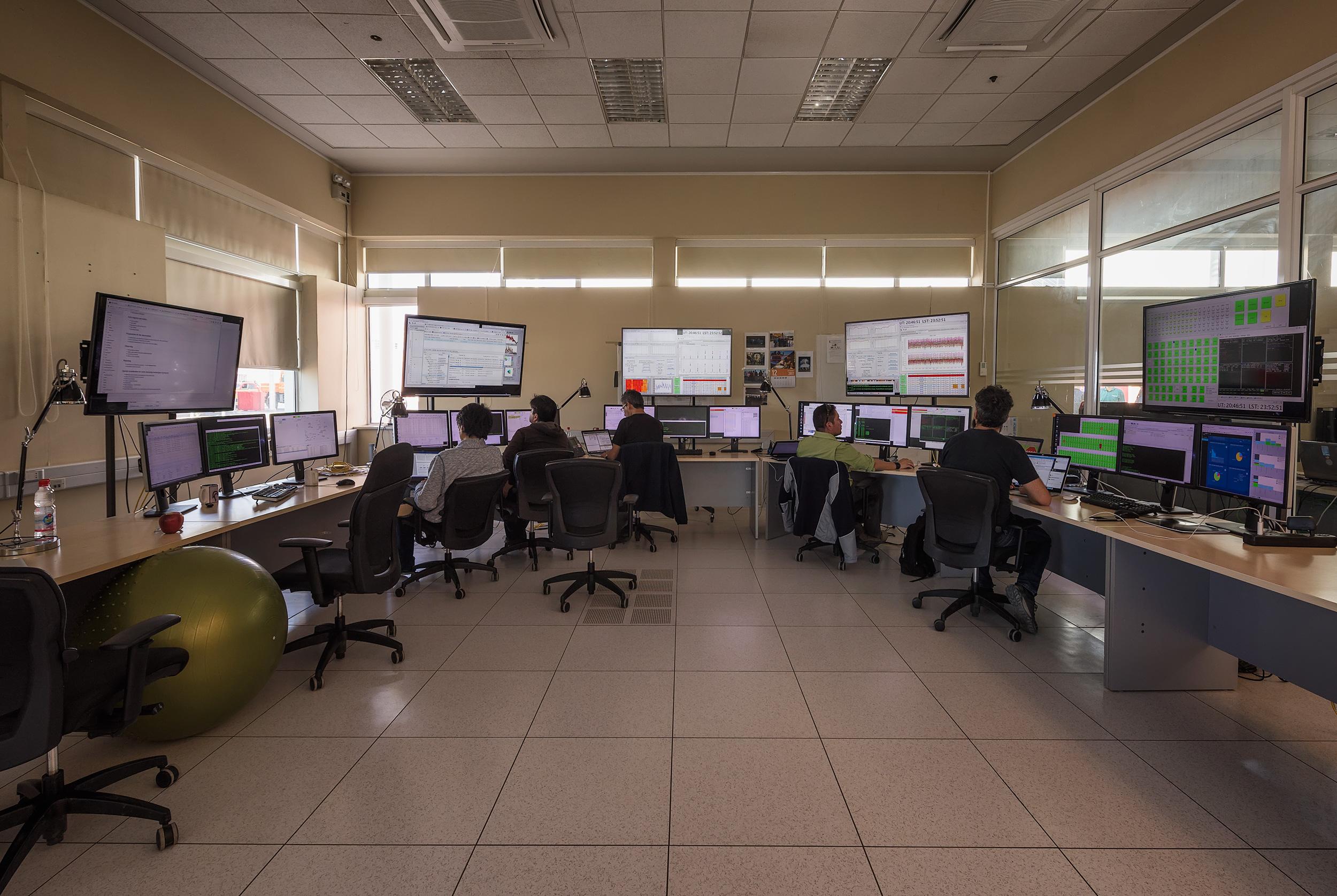 Antenna Control Room