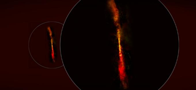 ALMA descubre crecimiento explosivo en joven protoestrella