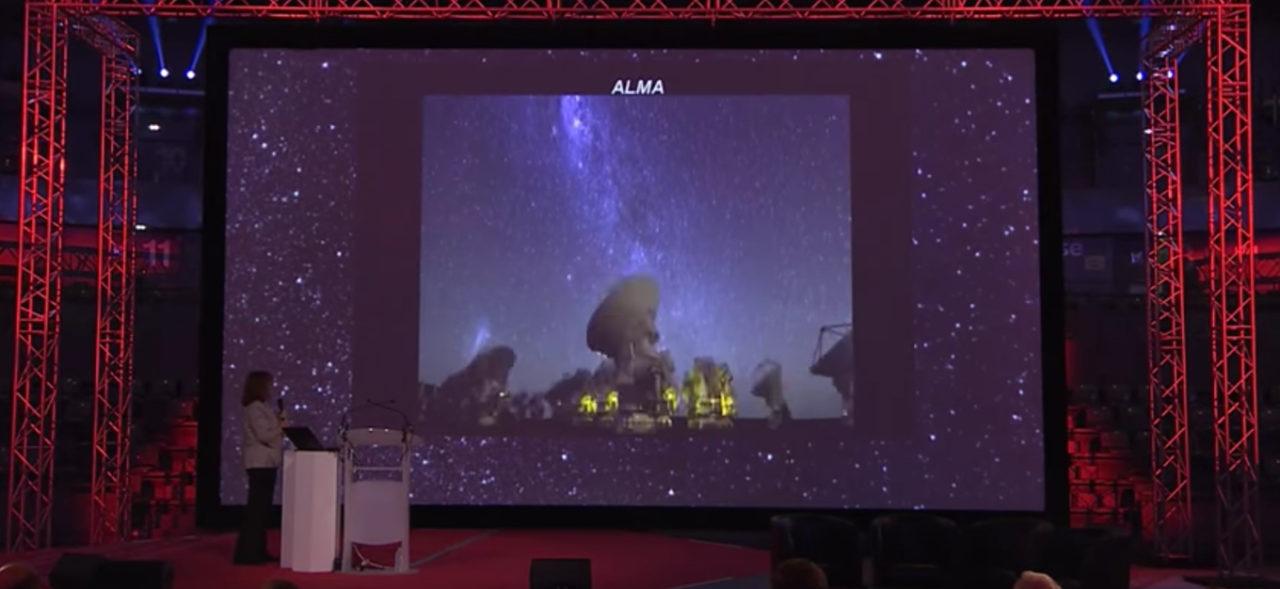 Inspiring Talk About ALMA In Europe
