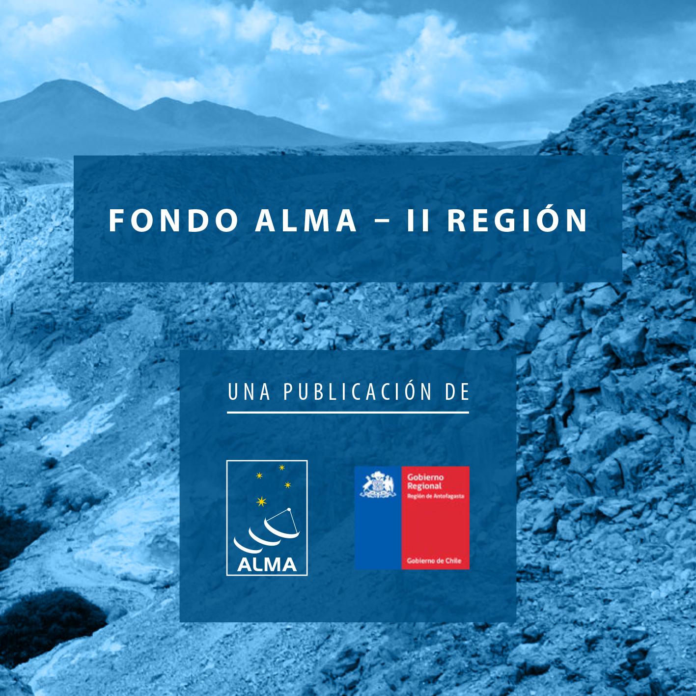 Brochure informativo para que las distintas comunidades, asociaciones y organizaciones del Area de Desarrollo Indígena de Atacama la Grande, encuentren información sobre los distintos tipos de uso del Fondo ALMA, quiénes pueden postular y cómo hacerlo.
