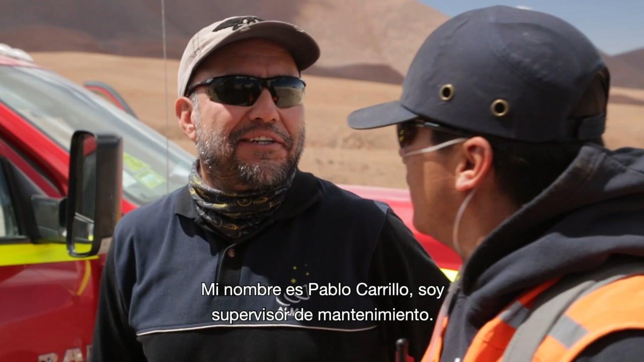 Los trabajadores de ALMA – Pablo Carrillo