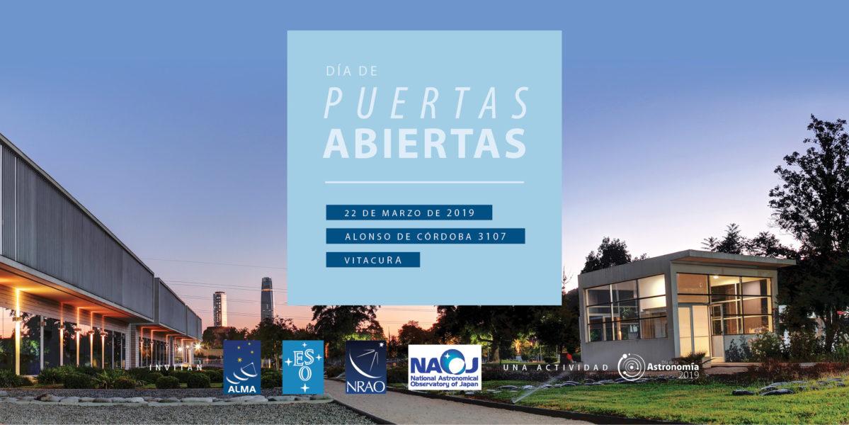 Participa en el día de Puertas Abiertas ALMA-ESO-NRAO-NAOJ en Santiago