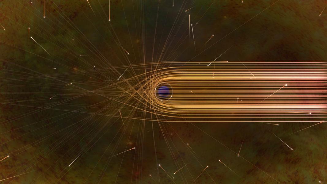 Photon Paths around a Black Hole