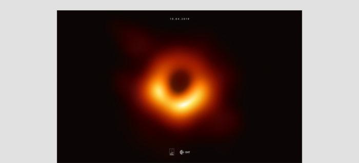 Fondo de Pantalla del EHT Black Hole (Escritorio)