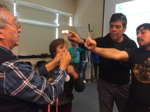 Workshop with teachers at ALMA. Credit: V. Foncea - ALMA (ESO/NAOJ/NRAO)