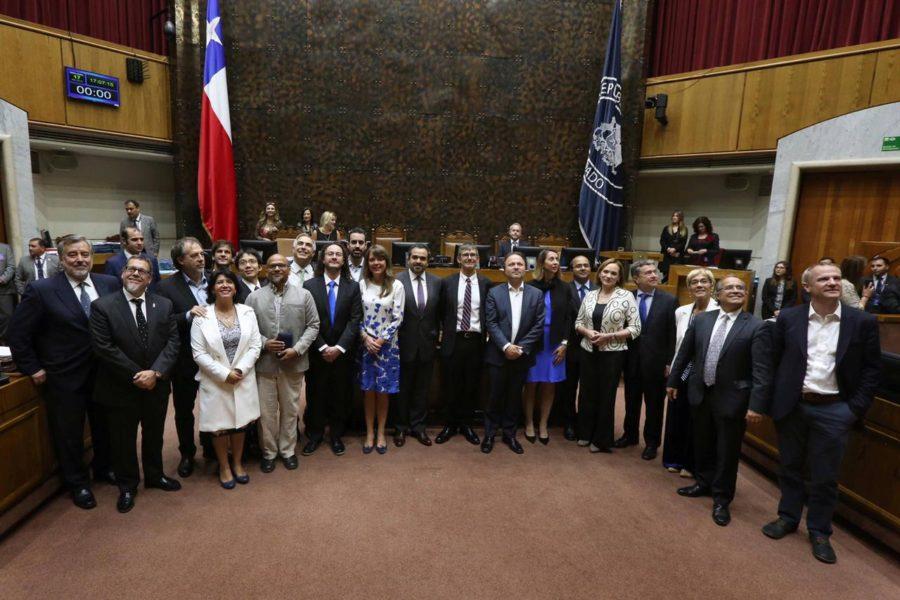 Chilean Senate Distinguishes ALMA for 1st Image of Black Hole