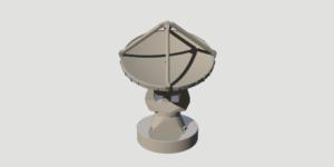 Modelo 3D de una antena de ALMA imprimible