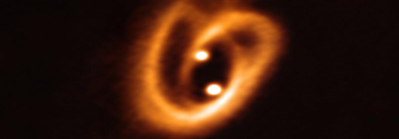 Un pretzel cósmico