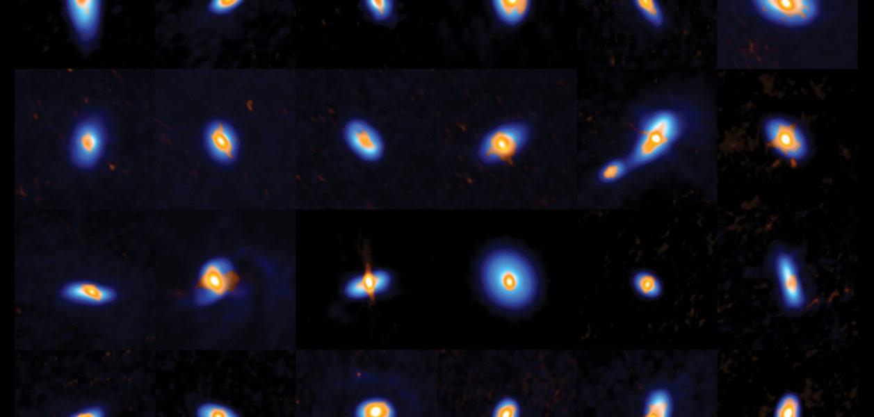 How Newborn Stars Prepare for the Birth of Planets