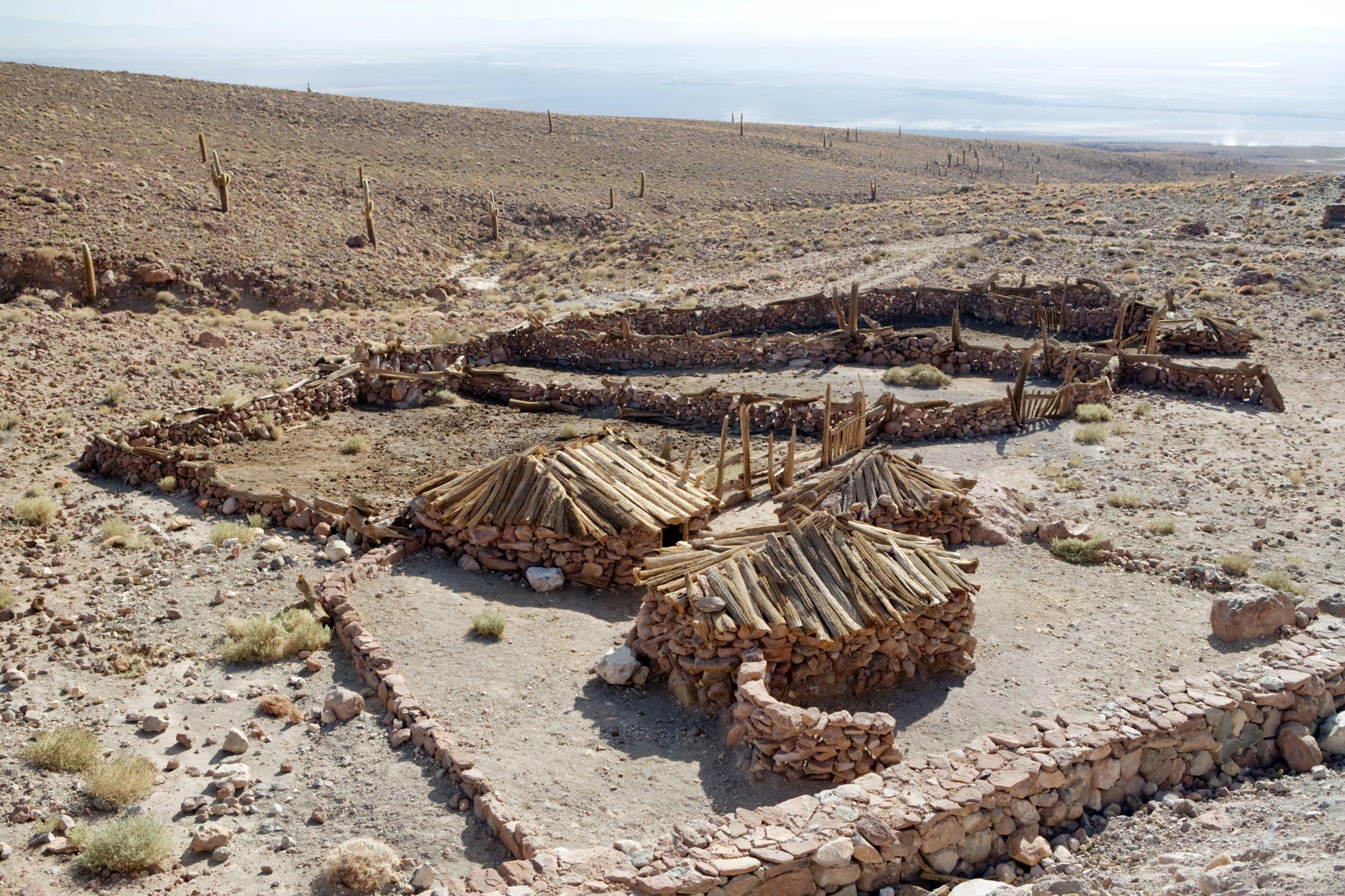Estancia que perteneció a antiguos pastores trashumantes de la precordillera. © Carlos Padilla