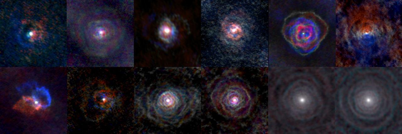 Astrónomos capturan vientos estelares con inédito detalle
