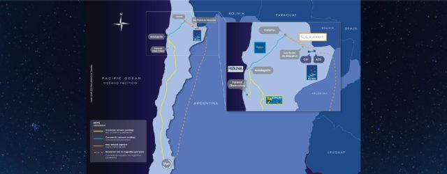 Contribución a Chile a través de la infraestructura de telecomunicaciones