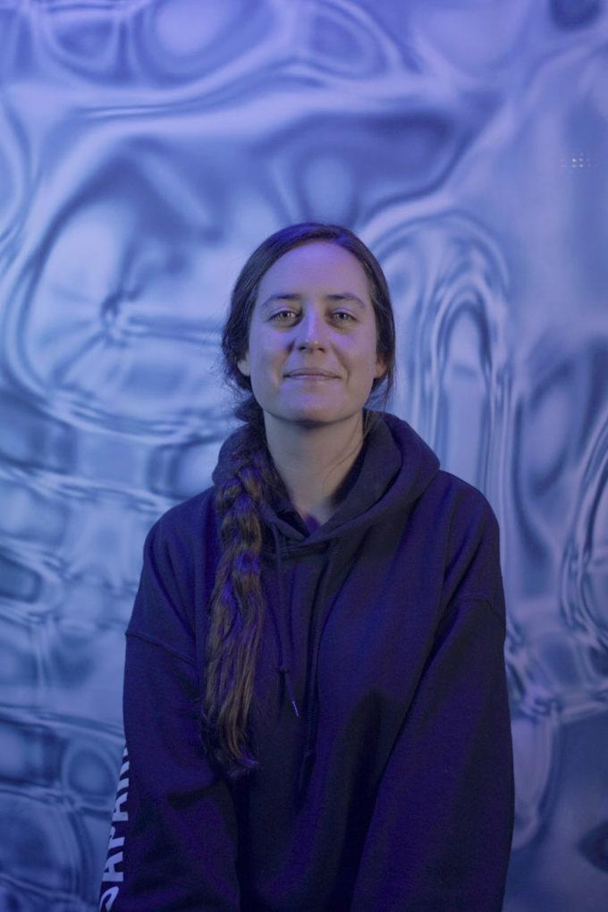 Portrait of Patricia Domínguez. Credit: ©Victor Savanyu, Musée des beaux-arts, La Chaux-de-Fonds