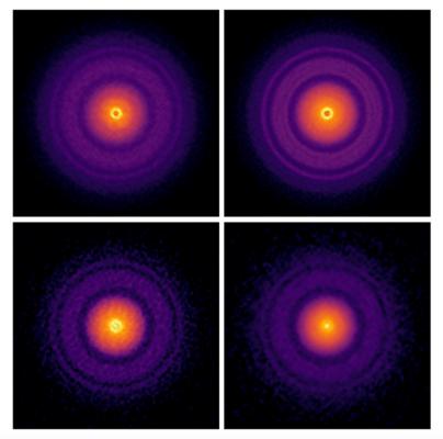 Caracterización de los sólidos en discos formadores de planetas usando ALMA
