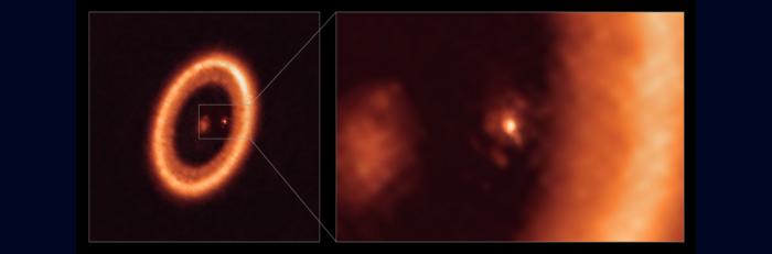 Primera detección inequívoca de un disco formador de lunas alrededor de un exoplaneta