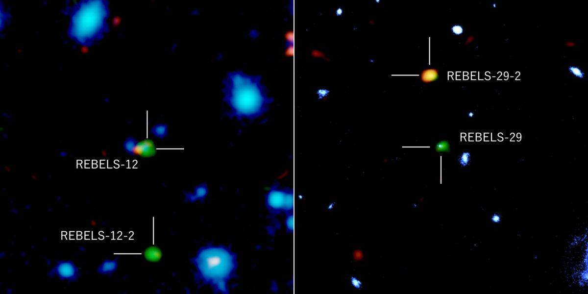 ALMA Unveil Galaxies at Cosmic Dawn That Were Hiding Behind the Dust