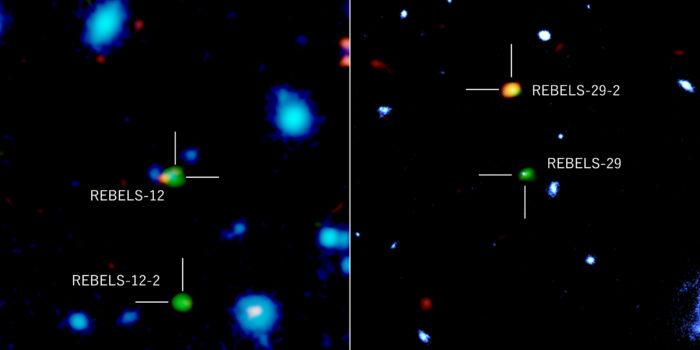 ALMA desvela galaxias en el amanecer cósmico escondidas en el polvo